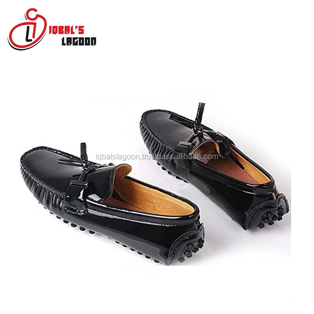 Leather Men Loafer Shoes