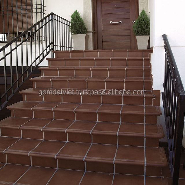 clay flooring tile terracotta install for exterior decoration Australia swimming pool