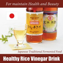 Protein and Anti-Fatigue Energy Promoting Matured Japanese Black Rice Vinegar Drink with Rich Amino Acid, OEM also Available