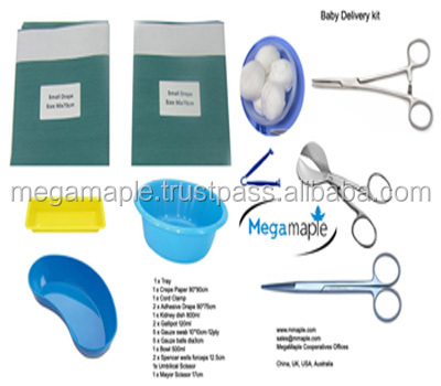 MM99 Hospital use baby delivery kit surgical sterile
