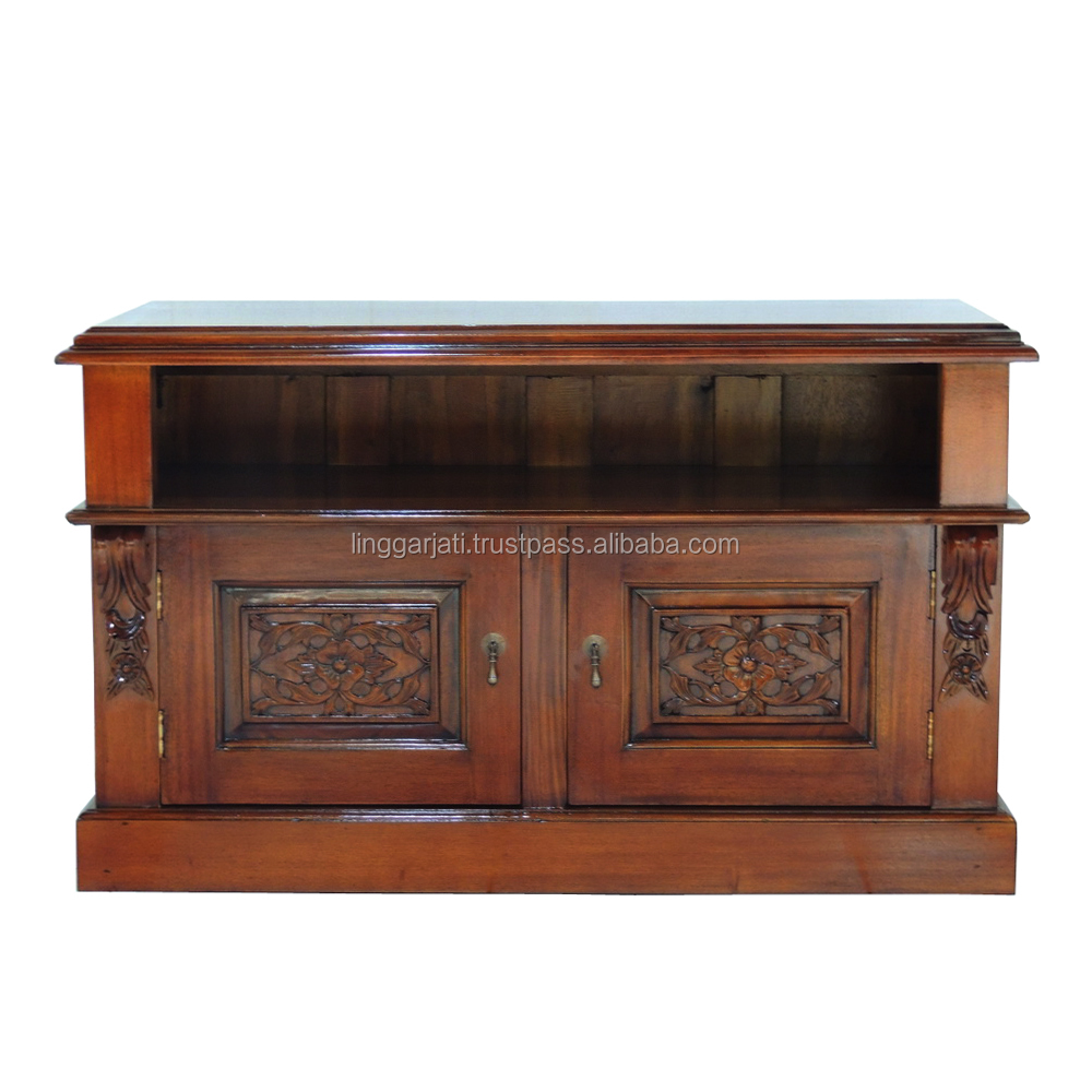 Hot Selling Wood Living Room TV Cabinet with 2 Drawers