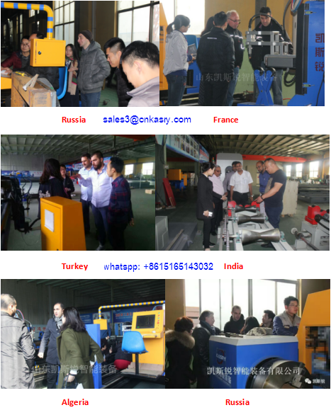 metal piping fabrication 5 axis cnc pipe cutting and beveling machinery