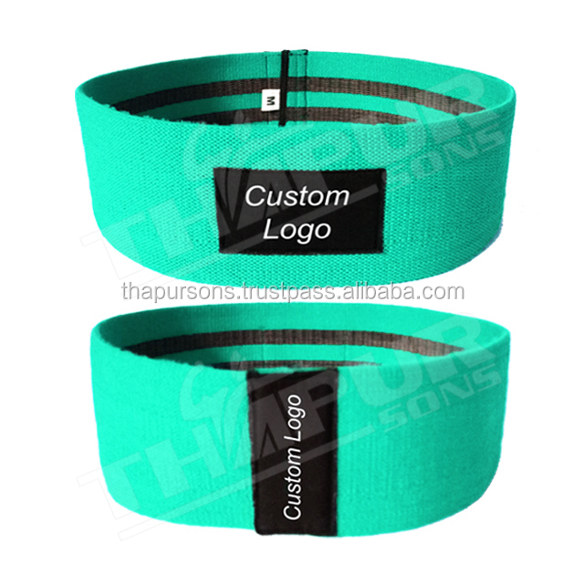 Students Fitness elastic hip Circle band with factory price