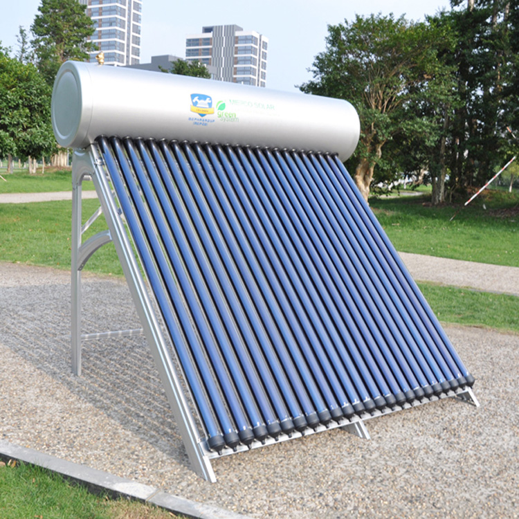2018 new products china solar water heater system