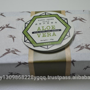 KAICOSHINE ALOEVERA SOAP WITH BIRD'S NEST EXTRACT