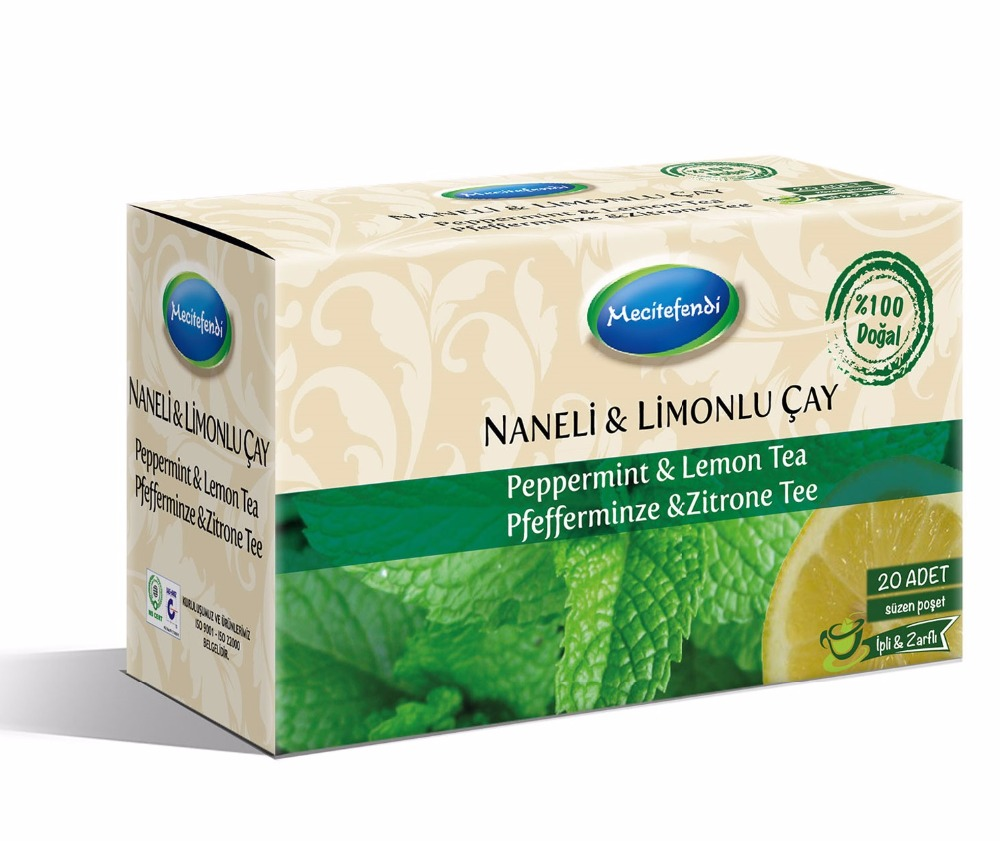 MINT&LEMON TEA-20PIECES