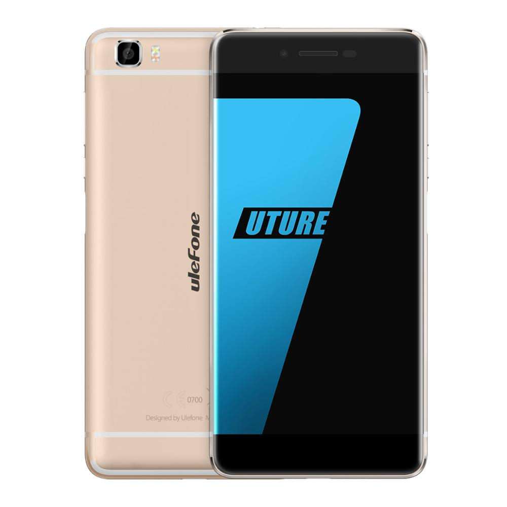 Bordless Ulefone Future 5.5Inch 4G LTE Smartphone MTK6755 Octa Core Android 6.0 4GB RAM 32GB ROM 16MP Fingerprint Mobile phone