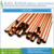 Anti Corrosive Premium Copper Pipes for Air Conditioner at Best Price