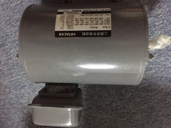 Hitachi Motor TO-K 0.2KW 3-Phase Induction Motor 4 Pole IP44 Brand New Genuine High Quality
