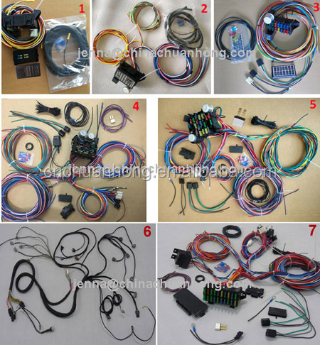 Gerneration GEN 4 GM Vortec Truck Engine 6L80E Wiring harness 2009-2013 LH6 LY5 LMG LH8 (5.3L) drive by wire