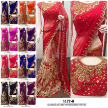 Heavy Embroidery Designer Low Price Party Wear Indian Saree Manufacturer