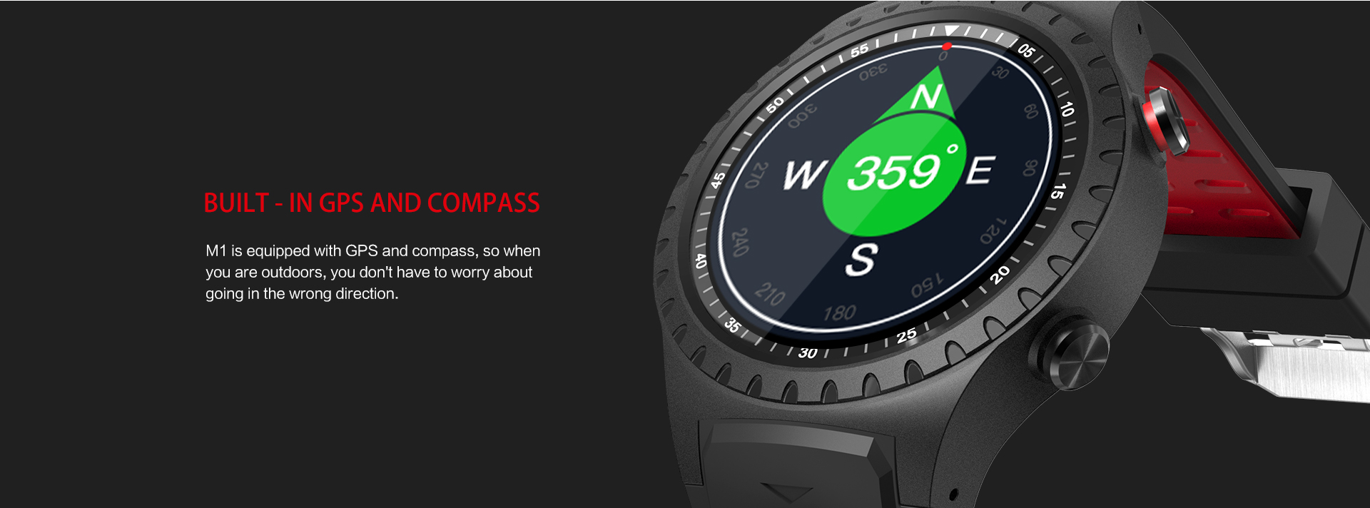 Hot sale GPS Sport watch with pedometer BT3.0+4.0 weather and message remind