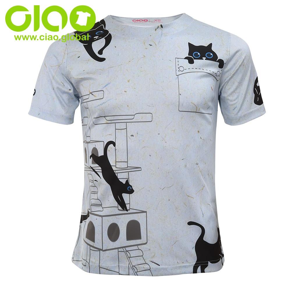 O Neck Men's sublimation full Print T-Shirt