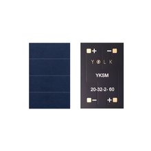 23.7% monocrystalline solar panel for BLE, IoT, beacon, wearable, home security, industrial appliances (15) YKSM 20-32-2-60