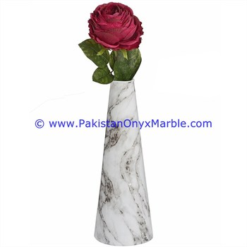 NATURAL COLOR MARBLE VASES GRAY MARBLE