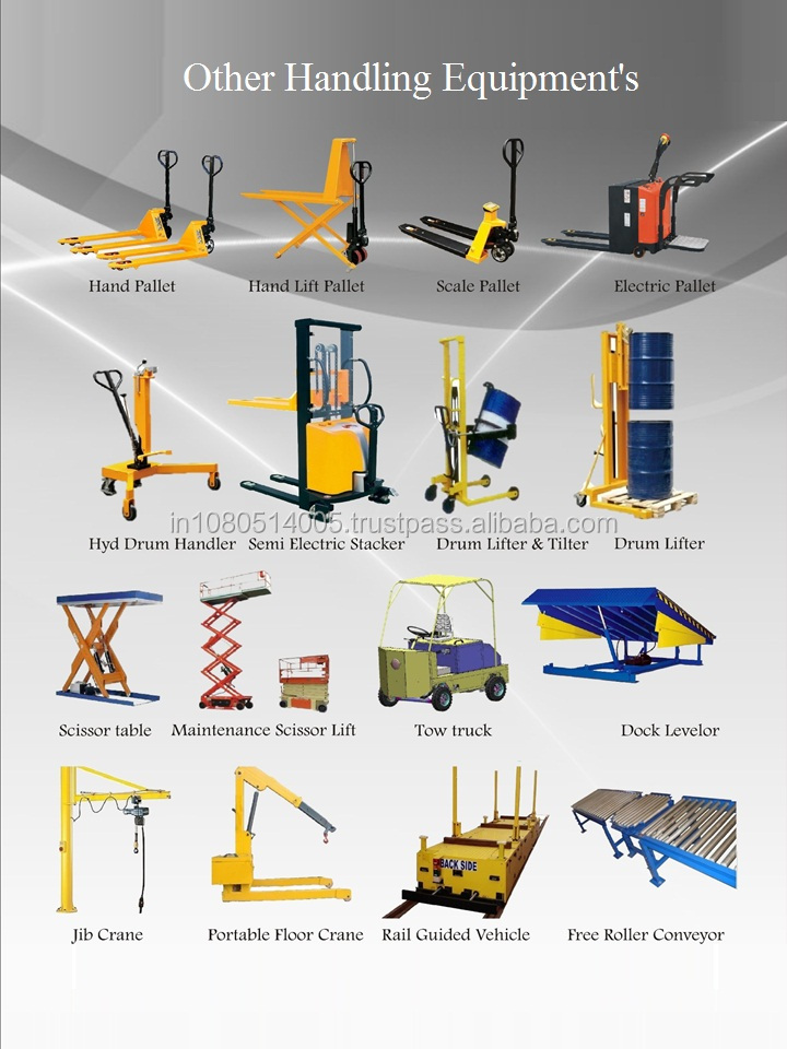 Semi Electric Floor Crane-Heavy Duty