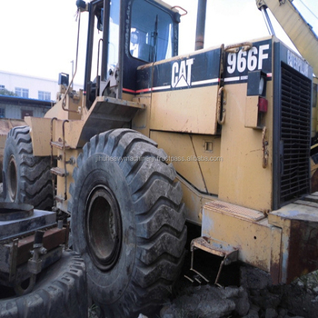 used Japanese cat 966F wheel loader construction machinery used caterpillar loader