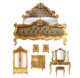 Bedroom set Furniture Indonesia - Furniture Bedroom Set Luxury Classic Furniture