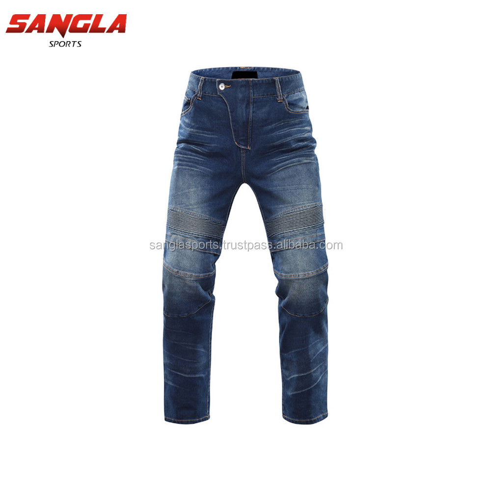 Latest Jeans Fashion Motorbike Soft New Style Pent Men Jeans
