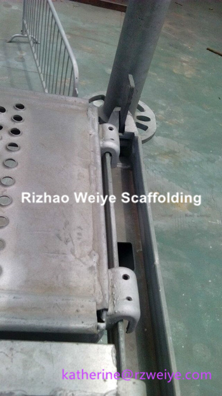 U Deck for Ringlock Scaffolding Layher