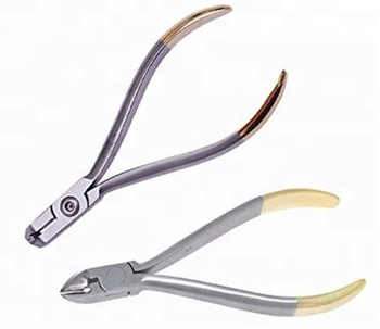 ORTHO Distal End Cutter Orthodontics pliers Wire Cutters with Safety hold GMI