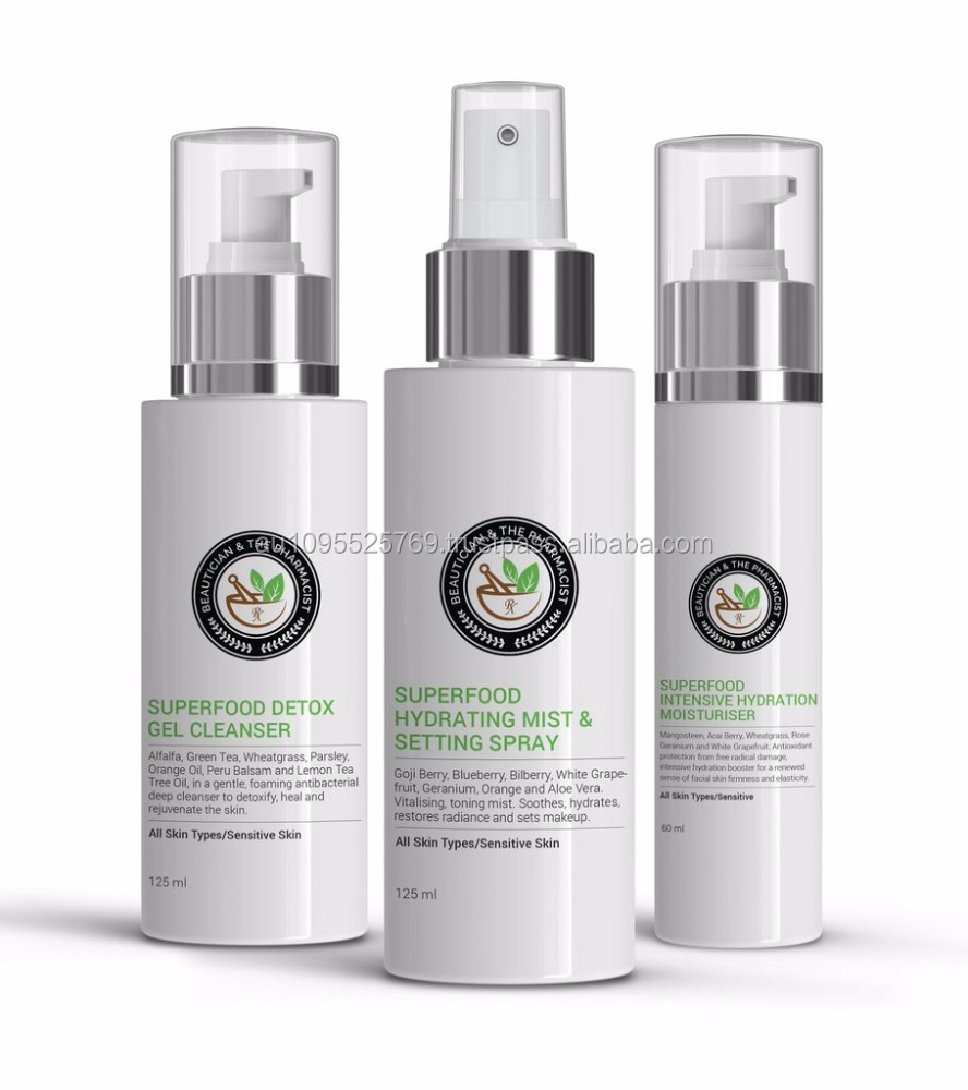 Superfood Starter Pack With A Cleanser Toner And A Moisturiser Soothes Skin New Style Personal Skin Care Beauty Facial Cleanser