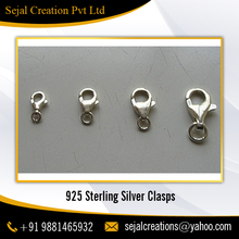 Wholesale Supplier of Ready Stock Sterling Silver Lobster Clasps, Fish Hook Clasps