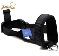 Custom Strong and Durable Soft Padded No Biting Dog Muzzle Adjustable