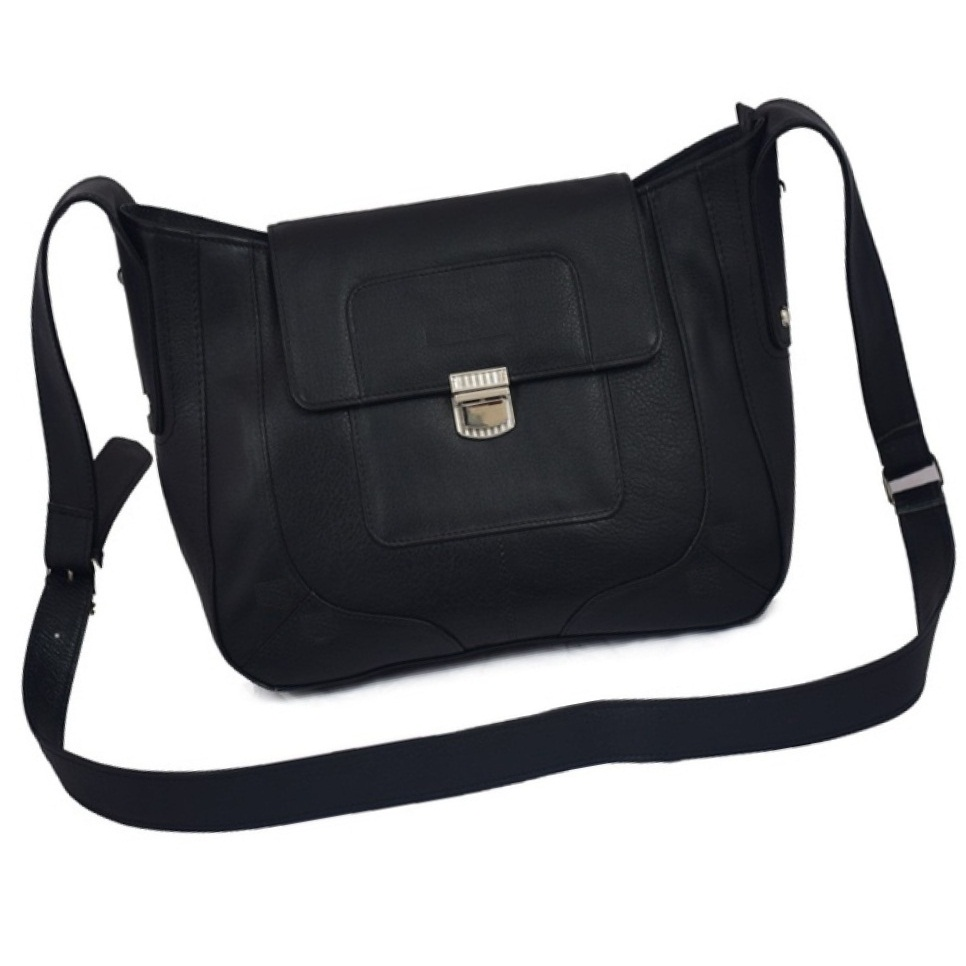 Sling Bag For Women's PU Leather Black
