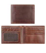 Mens Leather wallets, cowhide leather wallet/Mini Best and Good Quality leather wallet