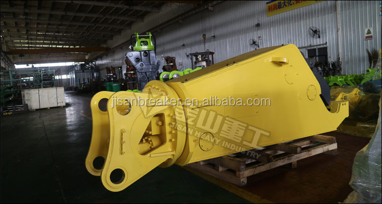 Heavy Duty Hydraulic Metal Shears Excavator Steel Cutter For 20-50 Ton Carrier