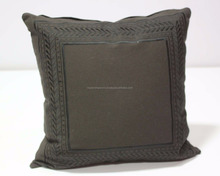 creative black color embroidery kilim cushion cover online shopping India embroidery designs sofa pillow cushion cover
