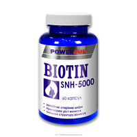 Hair, skin, nails condition improvement dietary supplement BIOTIN SNH-5000 in capsules Health Nutrition