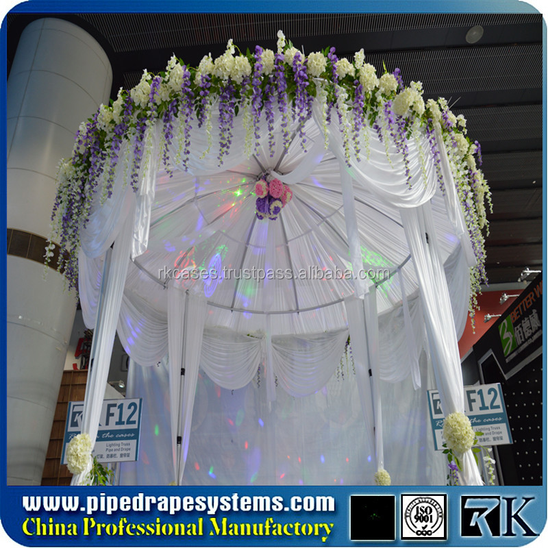 round pipe and drape frame cage round kits for sale