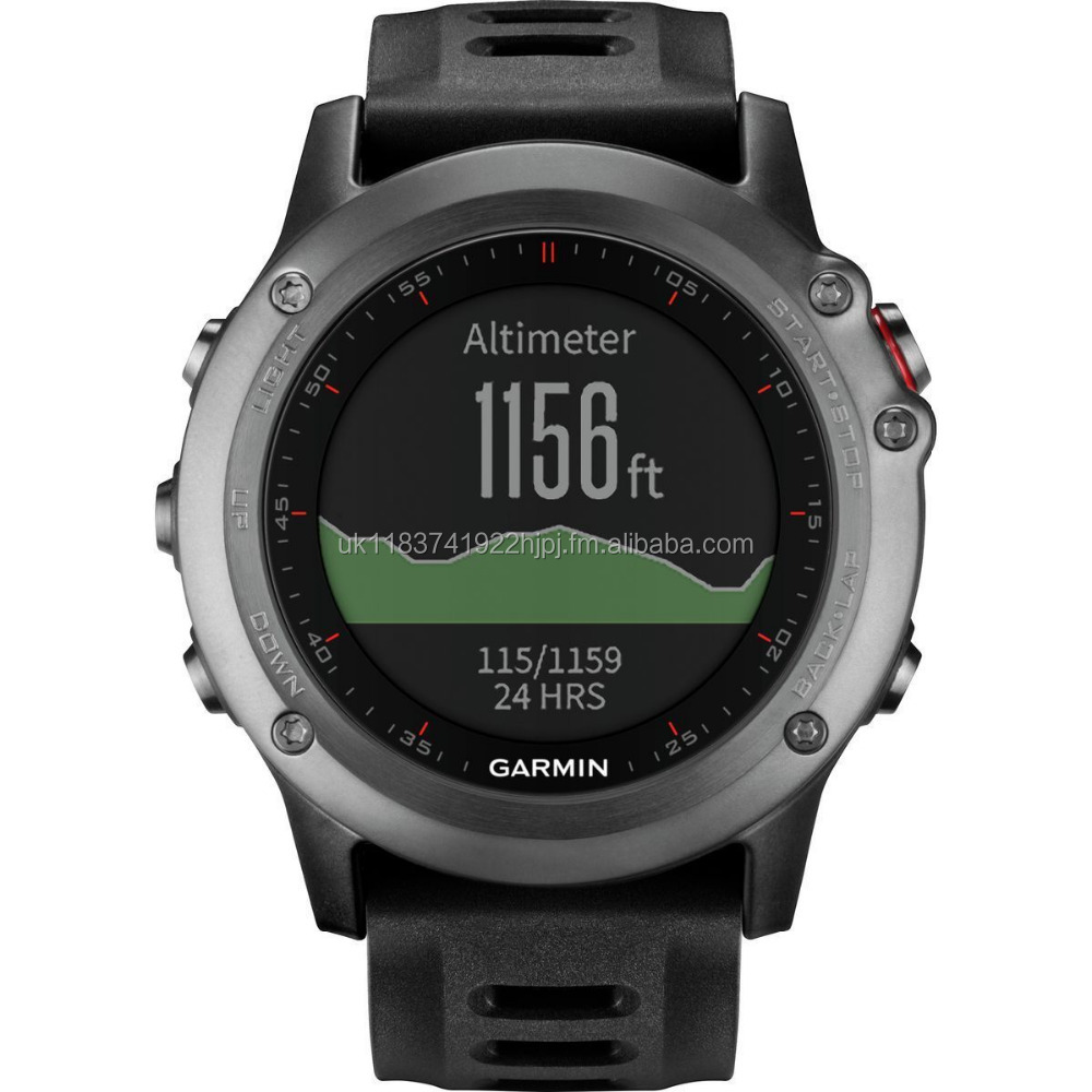 NEW Garmin Fenix 3 Grey GPS Running Triathlon GLONASS Sports Watch