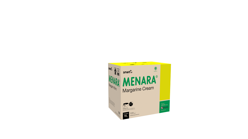Best multipurpose economical Vegetable Cream Margarine for Baking and Cream Fillinf - Menara Margarine