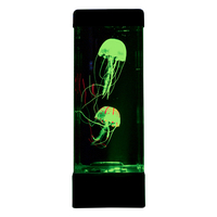 Jellyfish LED Mood Lamp with Relaxing Neon Color Changing Lights