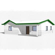 (WAS2502-95D) China&Philippines Manufacture Low Cost Modular Light Steel Prefabricated Concrete Houses for OEM Market