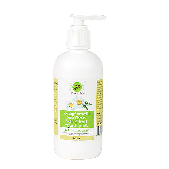 Organic natural skin care facial cleanser