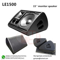 GY AUDIO TOP Selling 15 inch Stage Monitor Speaker LE1500