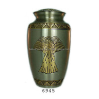 India manufacturers Adult brass cremation urns