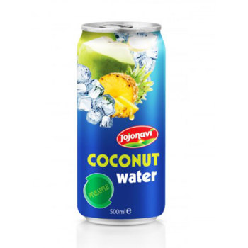 sparkling water brands Pineapple flavour Coconut water in canned 500ml coconut water