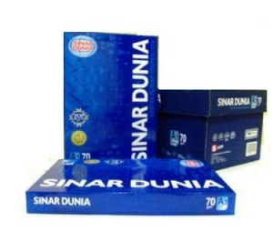 A4 SINAR DUNIA MADE IN INDONESIA FOR COPY PAPER