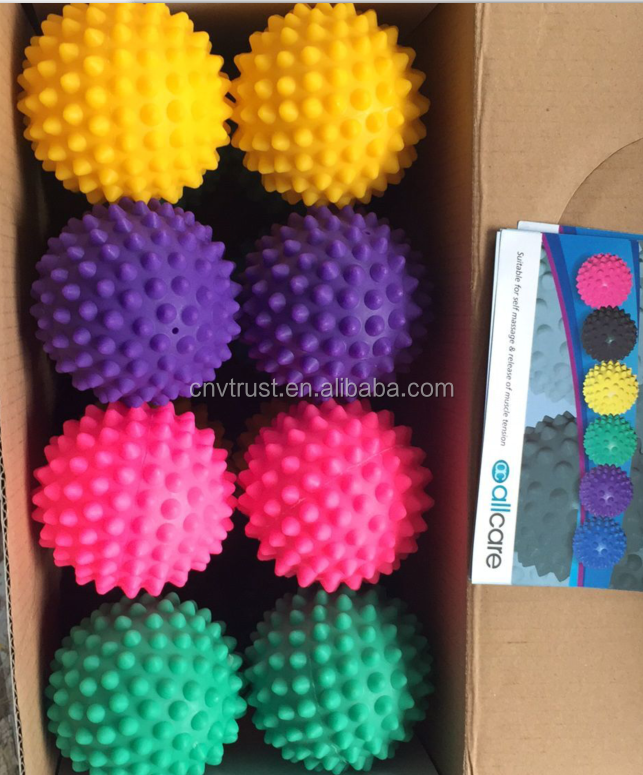Body Spiky Massage Ball,High Density Massage Roller Ball