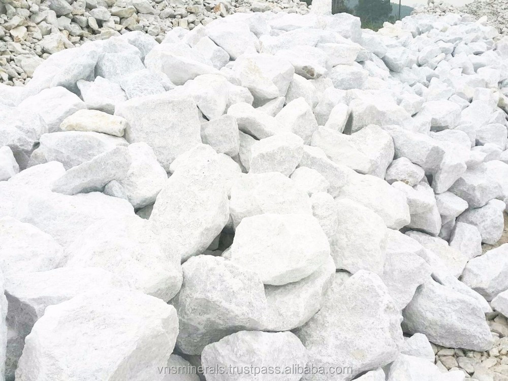 PERFECT WHITE LIMESTONE LUMP 10-30CM FROM VIETNAM