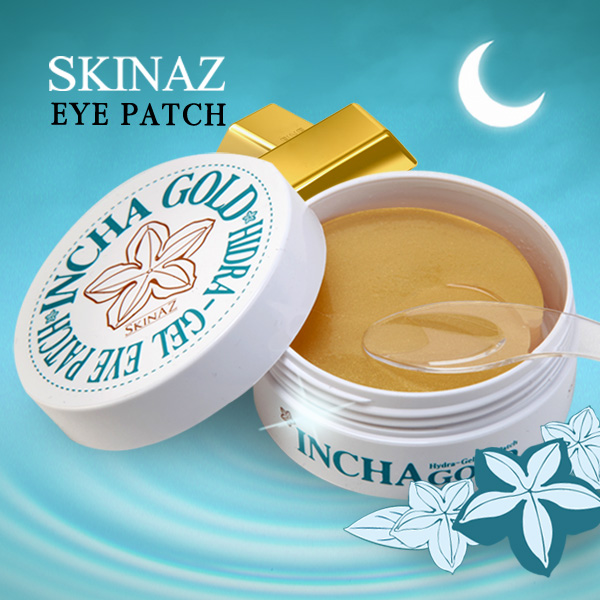 Korean Hydro-Gel INCHA GOLD Eye Patch Mask 60ea