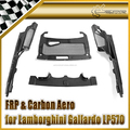 Carbon Fiber For Lamborghini Gallardo LP570-4 2011 Engine Interior Trim Kits Cover Panel Sets