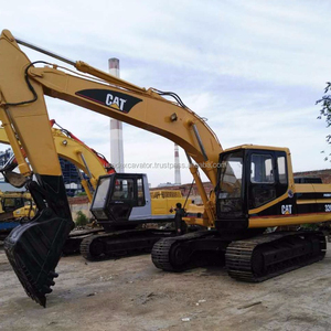 20 ton used Caterpillar/CAT excavator 320B imported from Japan for sale