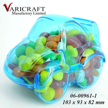 Car shape box in clear Plastic food grade packaging for sale