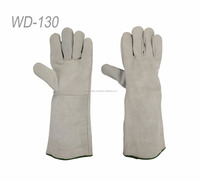 Latest 2018 Safe Welding Work Soft Cowhide Leather Gloves For Protecting Hand welding gloves